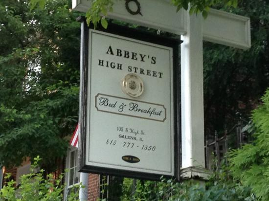 Abbey's High Street Bed and Breakfast: Don't miss this