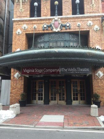 Virginia Stage Company at The Wells Theater
