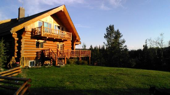 Cariboo, Καναδάς: Big Creek Lodge Außenansicht