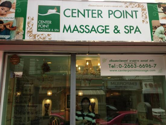 Massage Center Center Point Massage Bangkok