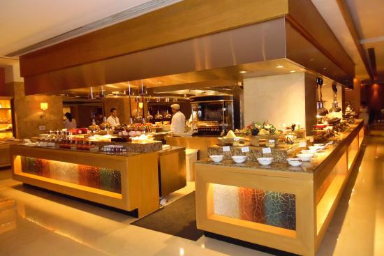 The buffet at for House boutique hotel dubai