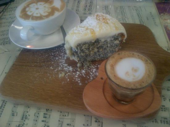 Claremont, Νότια Αφρική: Coffee and cake