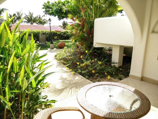 Sugar Cane Club Hotel & Spa: View from a room's terrace