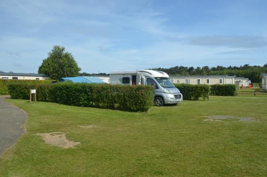 Nearby walk by sea picture of pinewoods holiday park for Cracow caravan park