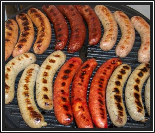 Alpena, Μίσιγκαν: Nowicki's Sausage on the Grill