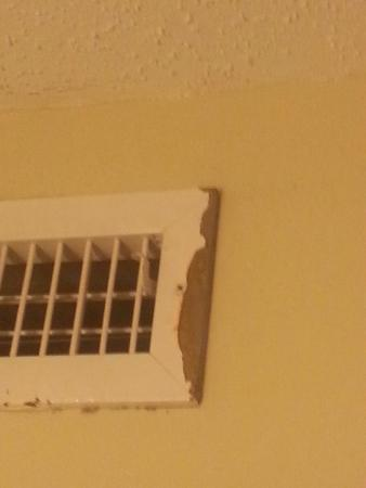 Country Inn & Suites By Carlson, Roanoke: Rusted vent cover
