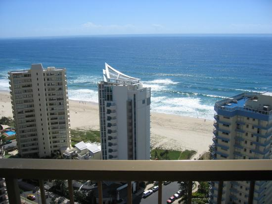 Surfers Century Apartments: Balcony view