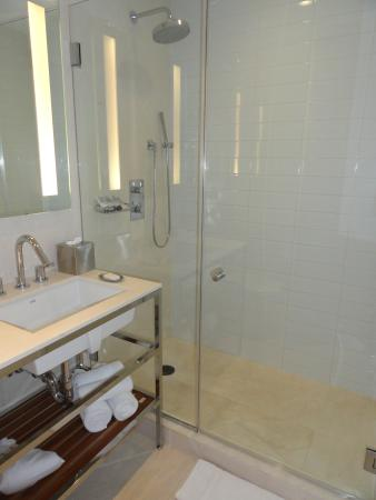 Cassa Hotel 45th Street New York: Love the stall shower! No gross tub!