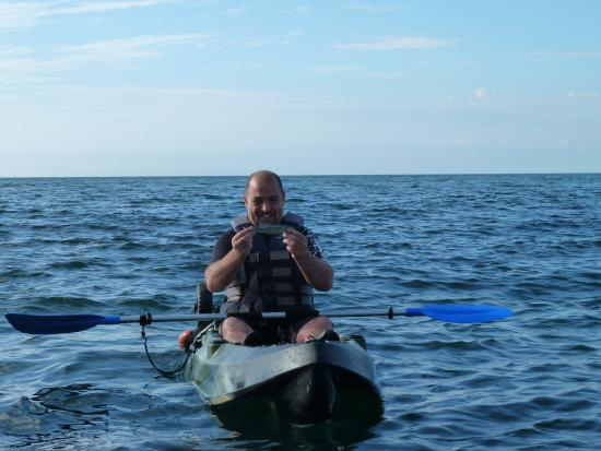 Fishing from the kayaks for Surfside fishing report