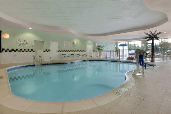 Indoor Pool Picture Of Hilton Garden Inn Chicago O 39 Hare