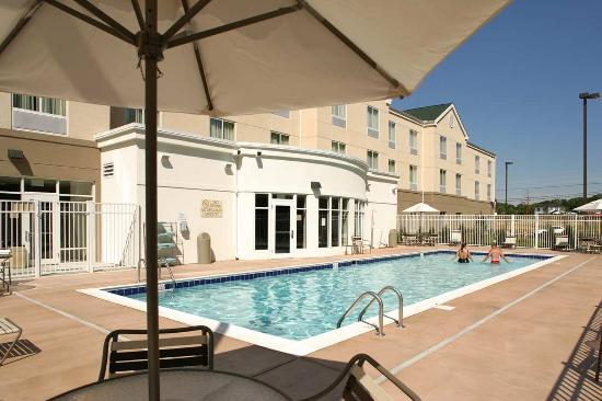 Outdoor Swimming Pool Picture Of Hilton Garden Inn Solomons Solomons Tripadvisor