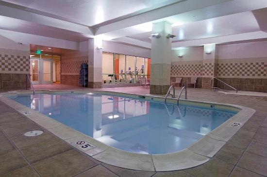 Indoor Pool Hot Tub Picture Of Hilton Garden Inn Indianapolis Downtown Indianapolis