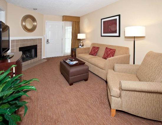 Two Bedroom Suite Picture Of Homewood Suites By Hilton Charlotte North University Research