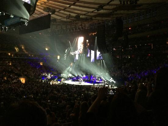 Msg Before The Start Of The Billy Joel Concert Picture Of Madison Square Garden New York