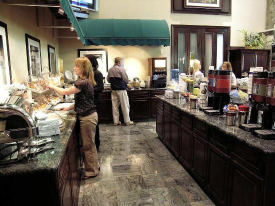 Hampton Inn & Suites Fairfield: Breakfast Serving Area