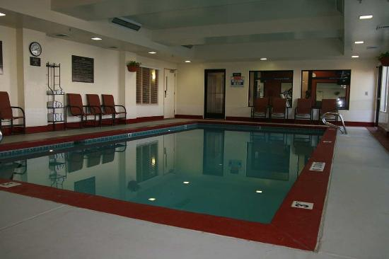 Indoor Swimming Pool Picture Of Hampton Inn Salt Lake City Murray Salt Lake City Tripadvisor