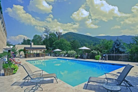 Swimming Pool With Mountain View Picture Of Holiday