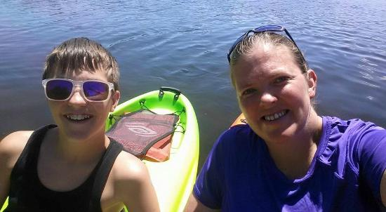Grantville, Πενσυλβάνια: A great day at Memorial Lake!