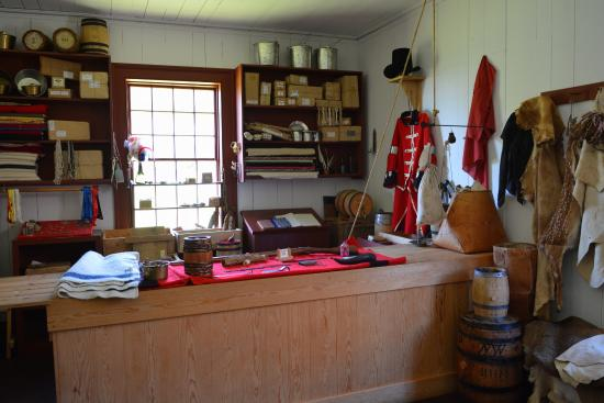 Grand Portage, MN: Trading Post