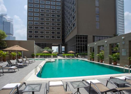 Swimming Pool Picture Of Carlton Hotel Singapore Singapore Tripadvisor