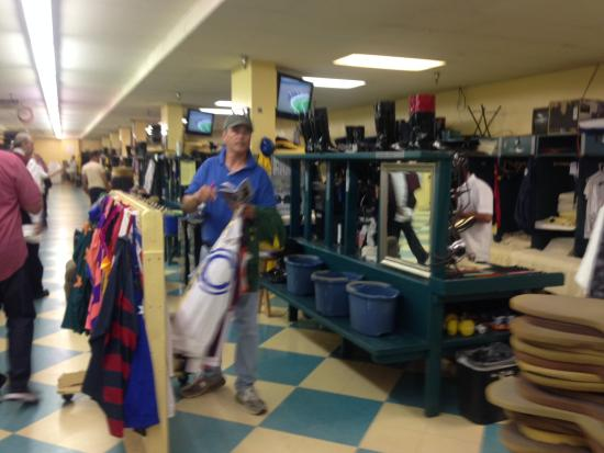 Arcadia, CA: In the jockeys locker room during Sea Biscuit tour