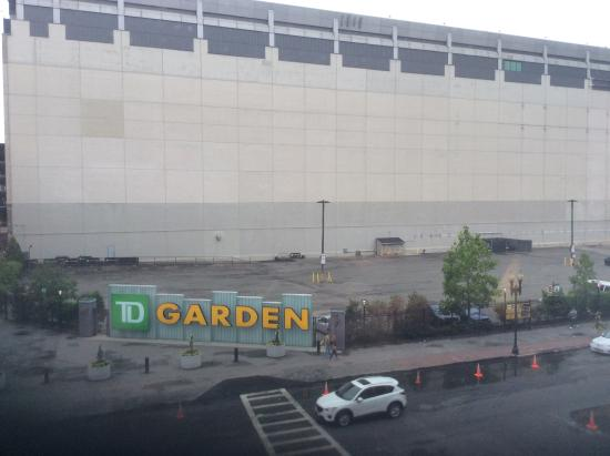 Right Across From Td Garden Picture Of Holiday Inn Express Hotel Suites Boston Garden