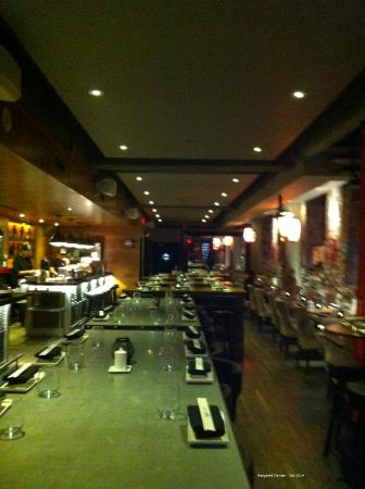 Interior picture of kyo bar japonais montreal tripadvisor for Aix cuisine du terroir restaurant montreal