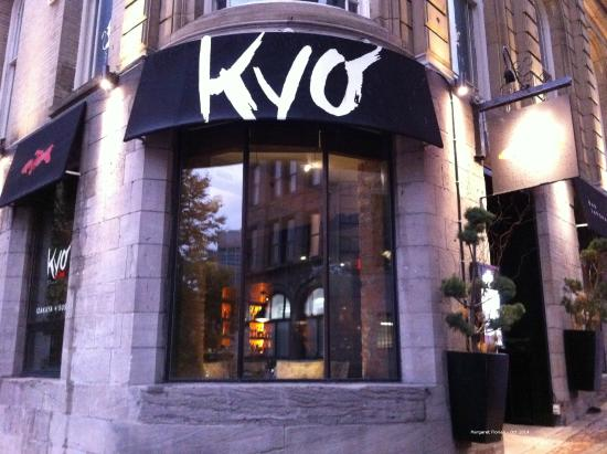 Interior picture of kyo bar japonais montreal tripadvisor for Aix cuisine du terroir montreal
