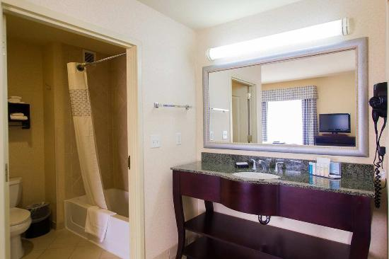 Magnificent Hampton Inn & Suites Natchez Photo: King Suite Bathroom 550 x 366 · 26 kB · jpeg