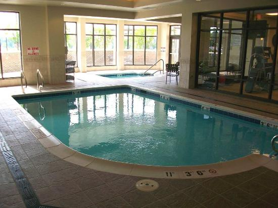 Indoor Pool And Whirlpool Picture Of Hilton Garden Inn Charlotte Ayrsley Charlotte Tripadvisor