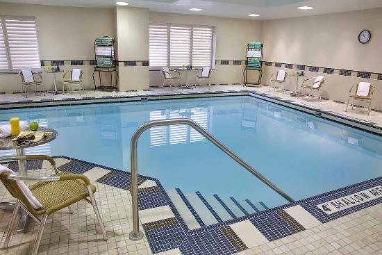 Indoor Swimming Pool Picture Of Hilton Garden Inn Toronto Downtown Toronto Tripadvisor