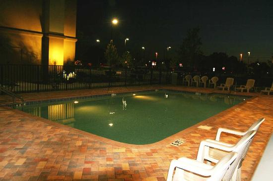 Port Richey, Φλόριντα: Pool at Night