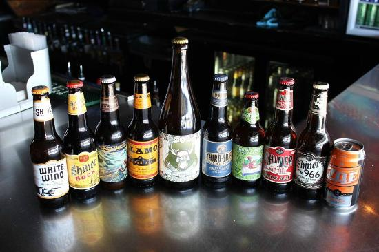 Over 70 craft beer labels available picture of the for Craft beer san antonio
