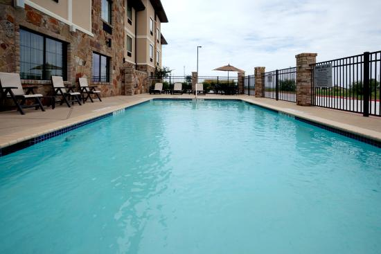Swimming Pool Picture Of Holiday Inn Express Hotel Marble Falls Marble Falls Tripadvisor