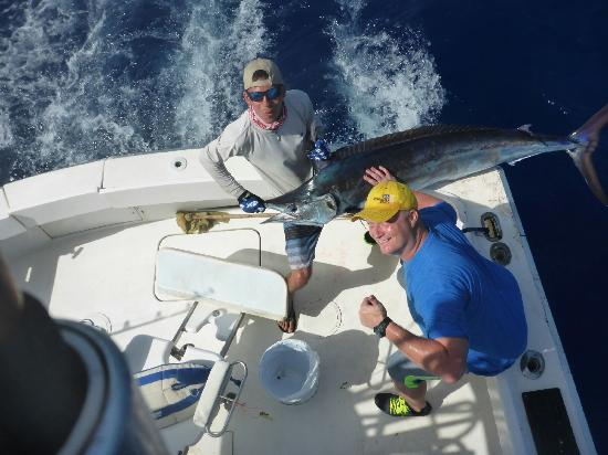 Posing with my fish picture of caribbean outfitters for My fishing advisor