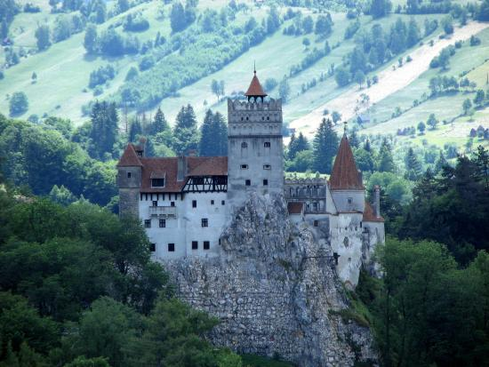 Bran Castle viewed from Club Vila Bran