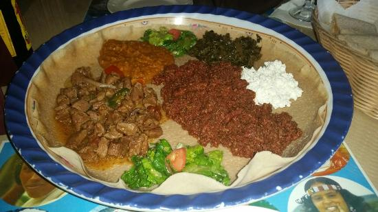 Authentic ethiopian food picture of nile ethiopian for Authentic ethiopian cuisine