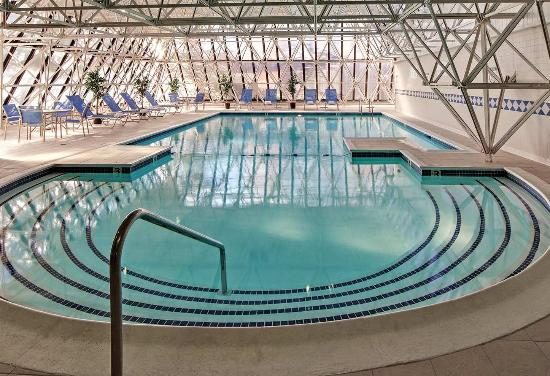 Indoor Pool Picture Of Doubletree By Hilton Hotel Portland South Portland Tripadvisor