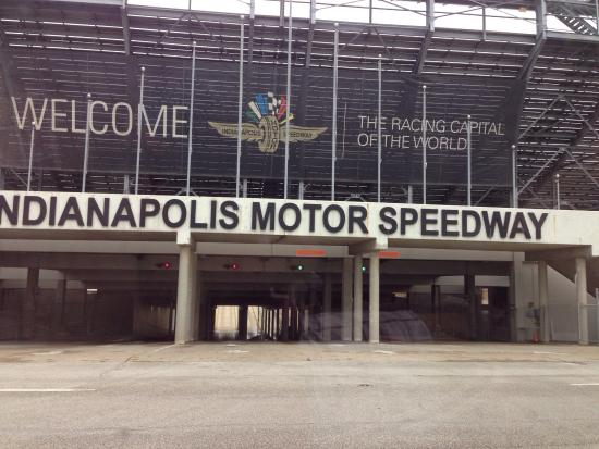 Picture Of Indianapolis Motor Speedway And