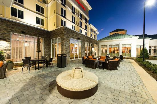 Outdoor Patio Picture Of Hilton Garden Inn Charlotte
