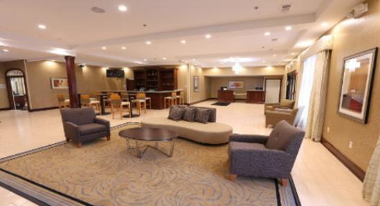Lounge Picture Of Wyndham Garden Grand Rapids Airport