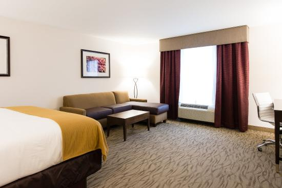 Aiken, Νότια Καρολίνα: Junior Suite Guest Room with King Bed Reverse Angle