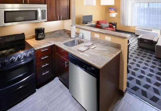 Two Bedroom Suite Kitchen Living Area Picture Of