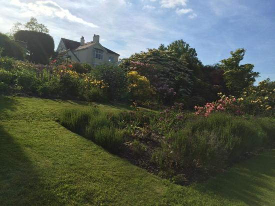 Church Stretton, UK: Garden