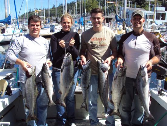 Good times picture of all star fishing charters for Washington fishing charters