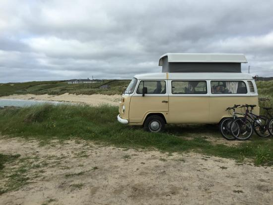 Camping at Clifden Eco Campground