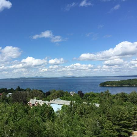 Atlantic Eyrie Lodge: Our view from our balcony