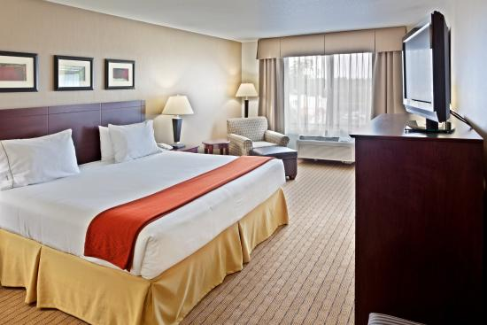 Holiday Inn Express Hotel & Suites Vancouver Portland North: King Bed Guest Room