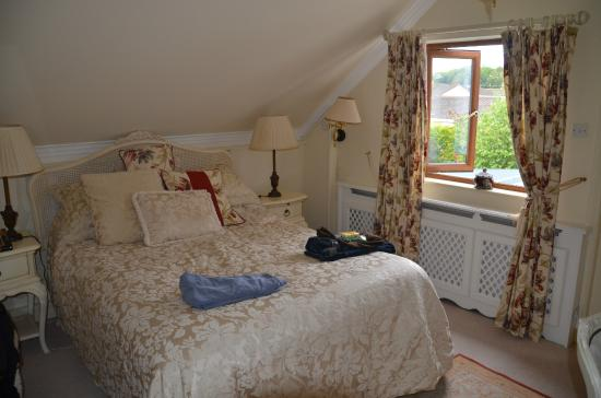 St. Anthony's Lodge B&B: Unser Zimmer (Green Room)