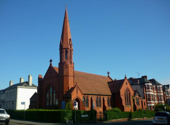 English Presbyterian Church, Colwyn Bay - closed and up for sale